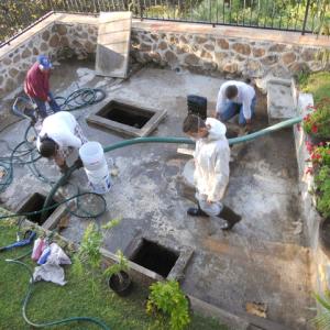 Lavado mantenimiento succión de desechos sépticos Guadalajara Zapopan Tlaquepaque