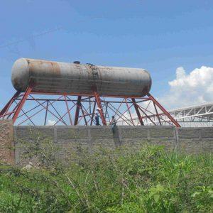 Mantenimiento limpieza tanques elevados con oxido Guadalajara Zapopan Tlaquepaque